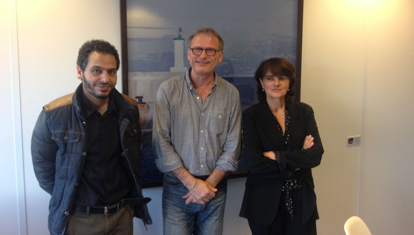 Hassan Almohammed, Michel Agier et Claire Rodier
