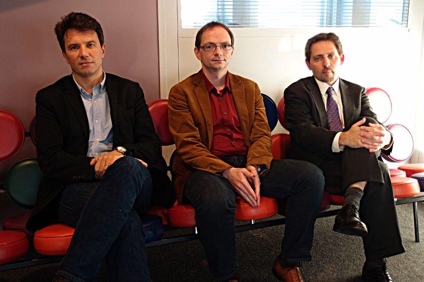 Camille Grand, Yannick Quéau et Etienne de Durand