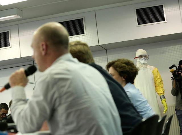 MSF a donné une conférence de presse afin d'expliquer comment le personnel travaille sur le terrain