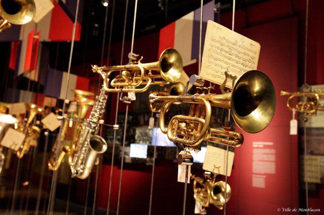 Le MuPop, musée des musiques populaires de Montluçon -
