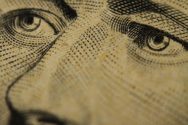 Billet de 10$ - Macro Ten Dollar Bill