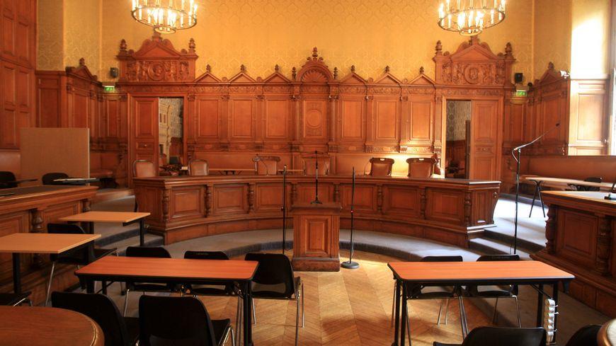 Une salle d'audience du tribunal correctionnel de Paris