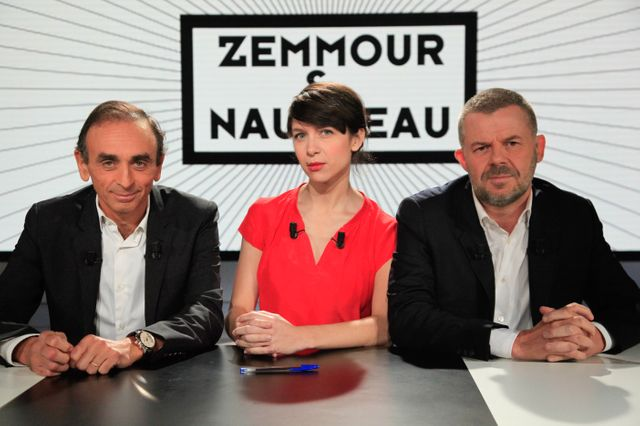 Photo promotionelle de l'émission Zemmour et Naulleau