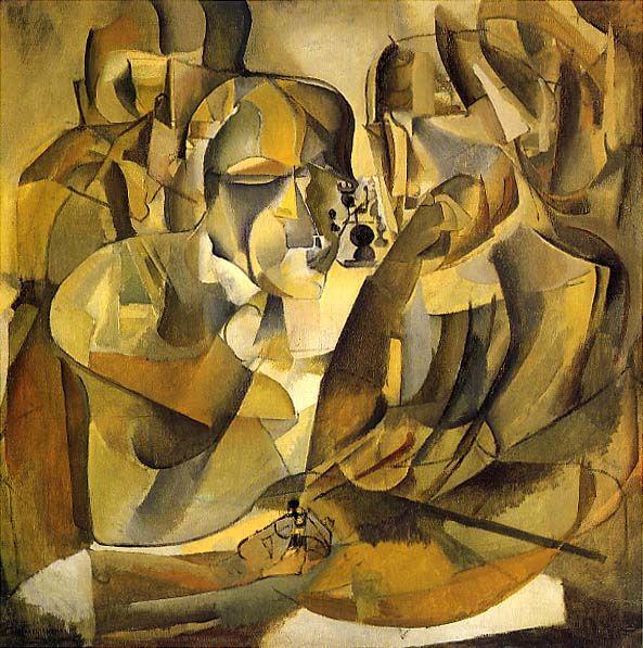 Marcel Duchamp - Les échecs - 1911