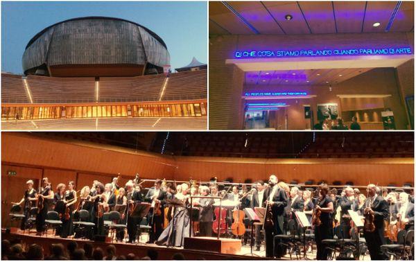 Depuis 2002, le Parco della Musica à Rome abrite une institution multi-séculaire : l'Académie Sainte-Cécile - et un orchestre fondé en 1908, que tous les plus grands chefs ont dirigé depuis sa création...