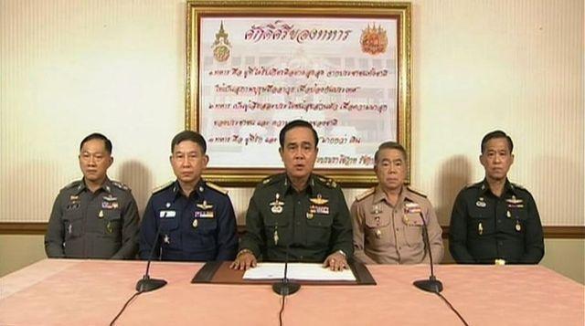 Dernier coup d'état en Thailande