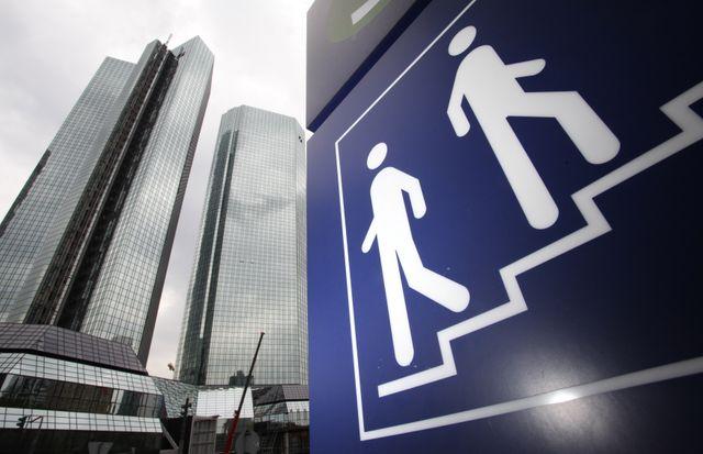 Le quartier général de la Deutsche Bank