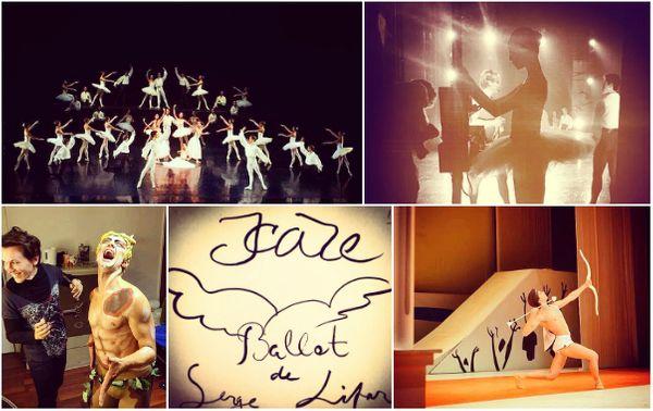 Dans les coulisses d'une soirée Lifar, avec les danseurs de l'Opéra de Bordeaux... © D.R.