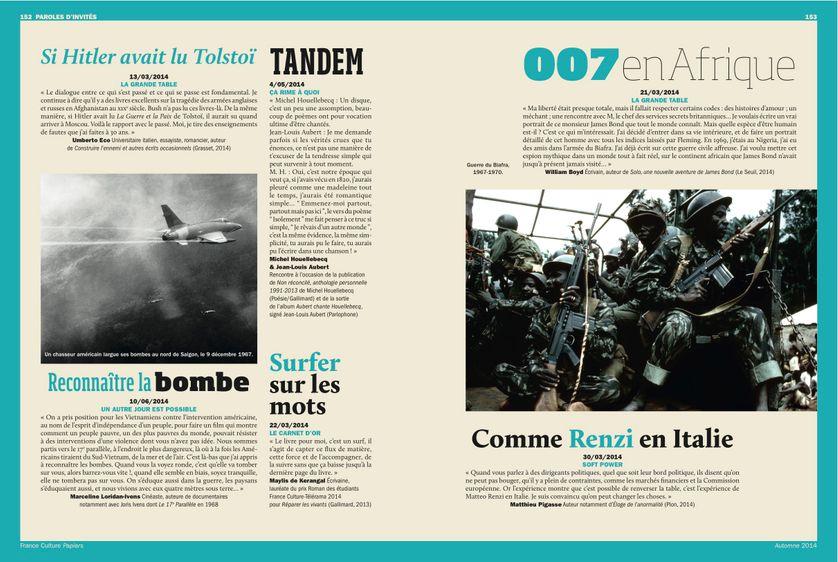 Umberto Eco / Marceline Loridan Ivens, Paroles d'invités page 152 France Culture Papiers n°11