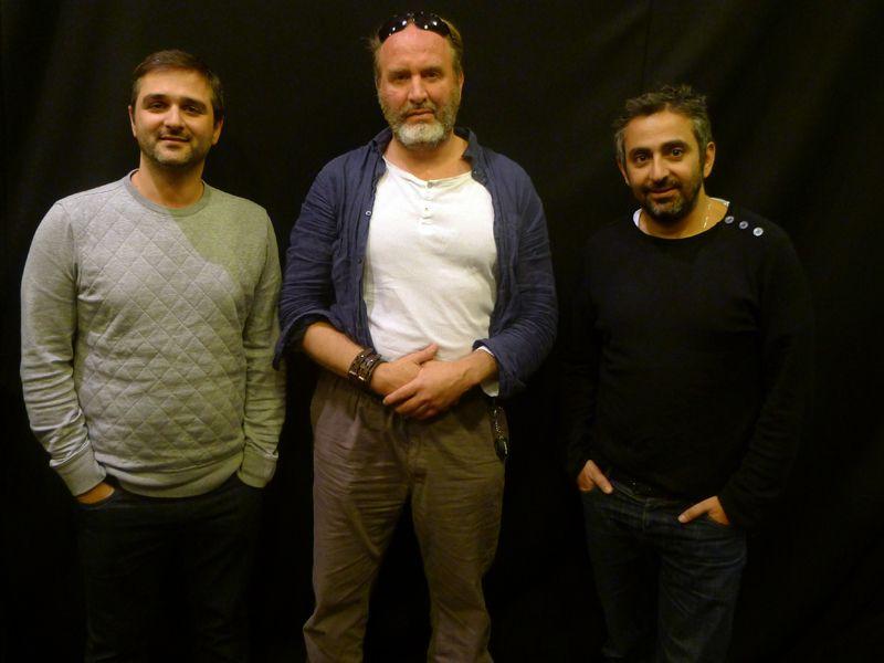 Olivier Nakache, Serge Joncour et Eric Toledano