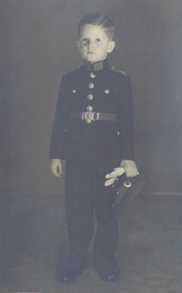 Siméon, prince de Tarnovo, enfant
