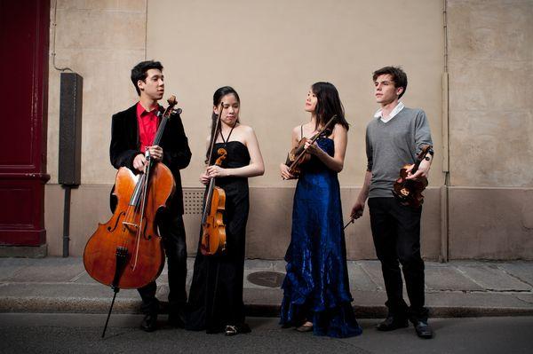 Quatuor Hermès ©François Sechet
