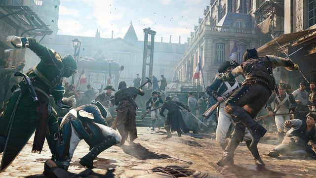 Image tirée d'Assassin's Creed Unity