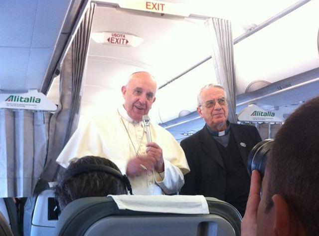 Le pape en visite à Strasbourg