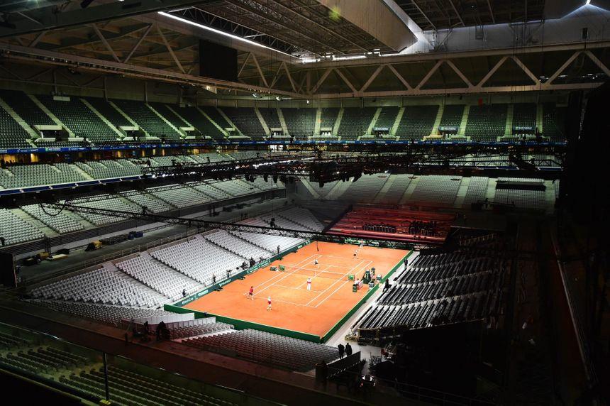 le stade Pierre Mauroy de Lille accueille la Coupe Davis