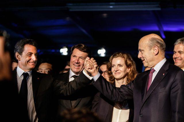 Nicolas Sarkozy, ancien president de la Republique, et candidat a la presidence de l UMP tient un meeting a Bordeaux en presence