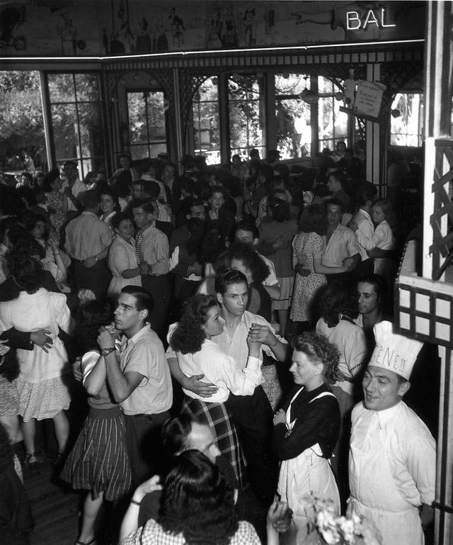 Chez Gégène, Joinville-le-Pont, 1945