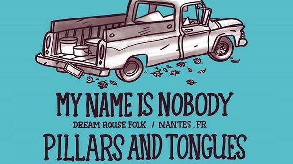 My name is nobody et le trio Pillars and tongues en live à l'Olympic Café