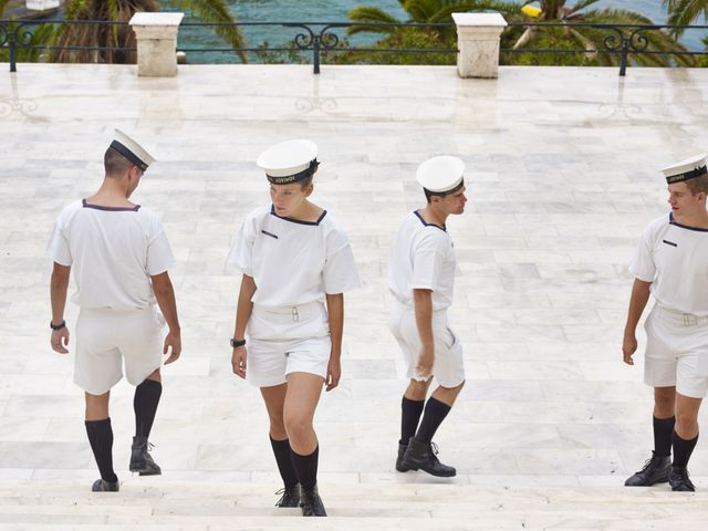 Grèce- Académie Navale Hellénique, le Pirée @Paolo Vezone/Agence VU