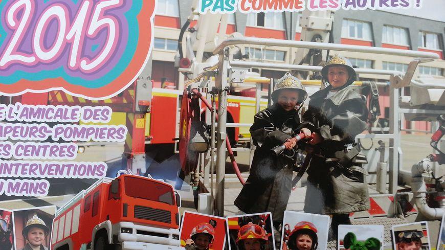 Le calendrier des pompiers du Mans - Edition 2015