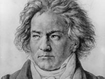 Ludwig van Beethoven, portrait © D.R.