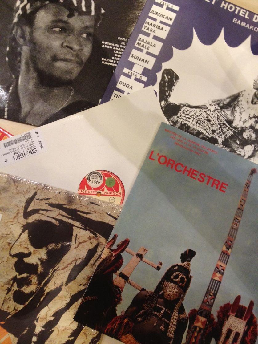 Vinyles sélection Mali