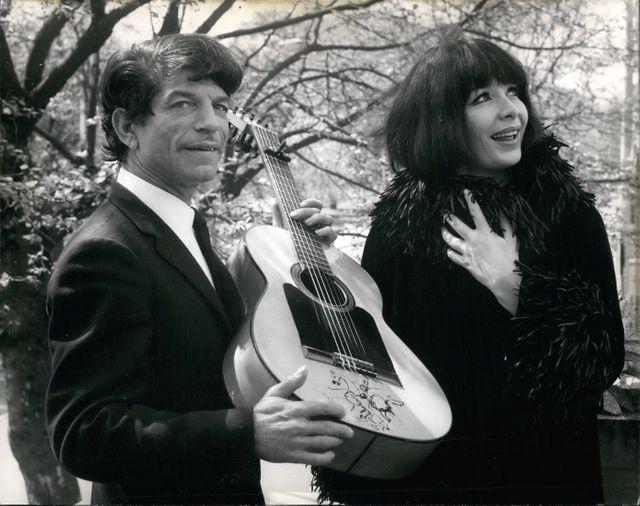 De Plata et Juliette Greco 1967