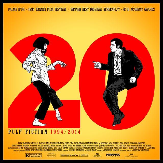 Pulp Fiction - 20ème anniversaire