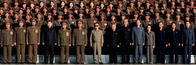 Les notables nord-coréens