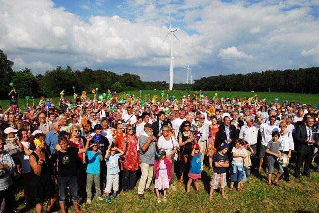 Environ 1.000 habitants ont participé au financement des éoliennes