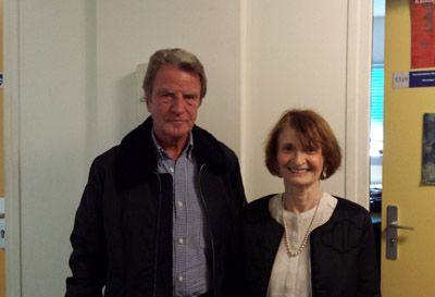 Bernard Kouchner  et Myriam Revault d'Allonnes