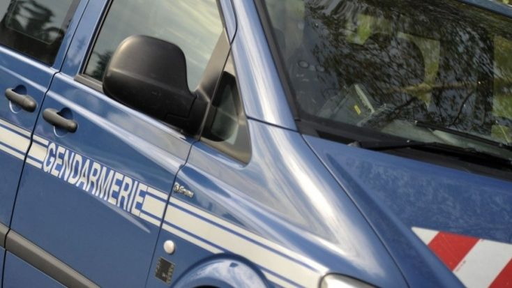 Voiture de gendarmerie (illustration).