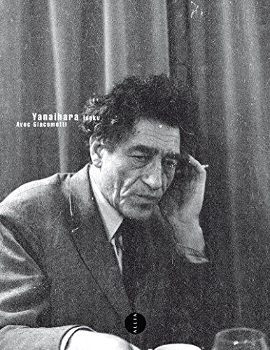 "Livre ""Avec Giacometti"" de Yanaihara Isaku"