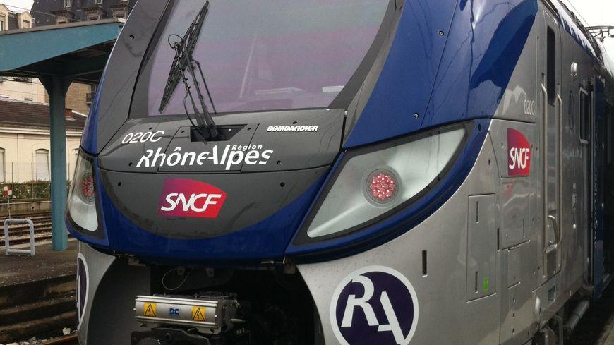 Nouveau TER Rhône Alpes Bombardier