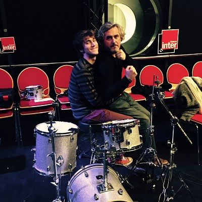 Mathieu Saikaly et Nicolas Rey