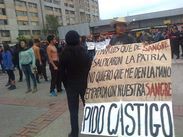 Mexique - Manifestation disparus d'Iguala 2