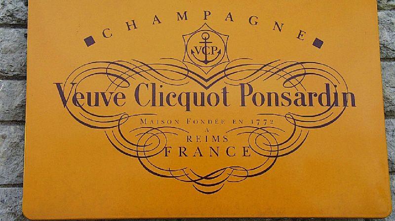 Champagne Veuve Clicquot (illustration).