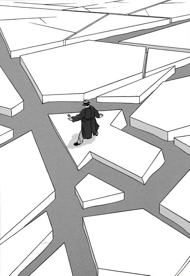 Marc-Antoine Mathieu-dessin album S-E-N-S