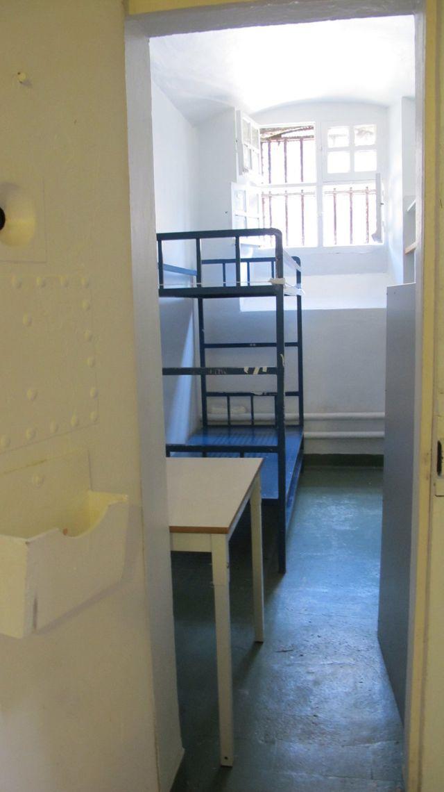 L'exemple d'une cellule de 7m2, avec 2 lits superposés