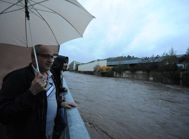 Les pluies ont fait déborder certains cours d'eau dans la Loire