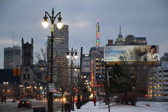 Detroit, centre ville