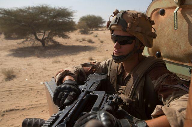 Opération Barkhane au Sahel