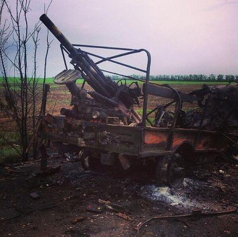 Dans les campagnes du Donbass