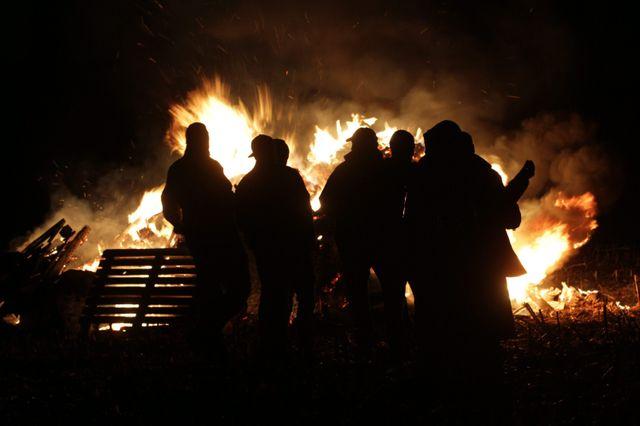Hier soir à Hochstatt (Haut-Rhin), les agriculteurs de la FNSEA ont exprimé leur colère.
