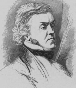 Portrait de Wiiliam Thackeray