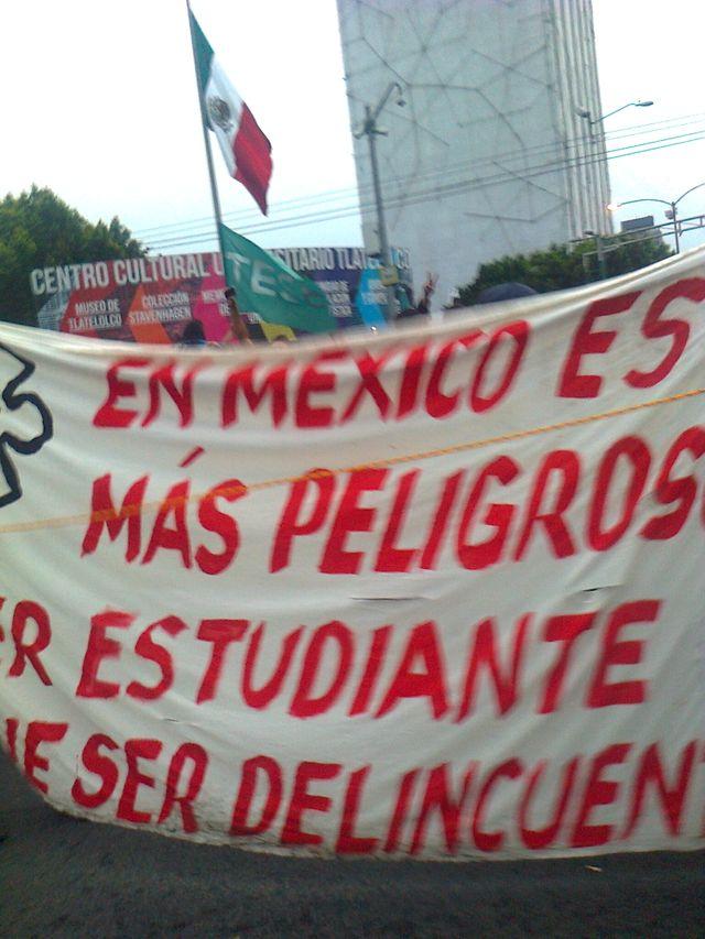 Mexique - Manifestation disparus d'Iguala