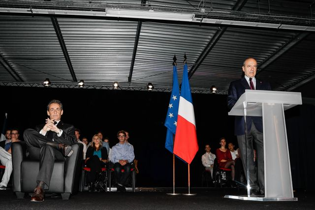 Meeting de sarkozy à Bordeaux