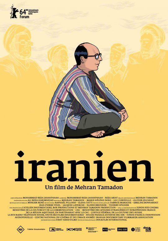 """Mehran Tamadon-affiche du film """"Iranien"""""""