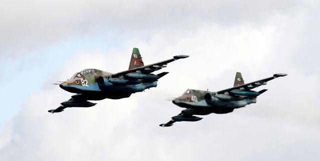 Deux Sukhoi-25 étaient impliqués dans le bombardement
