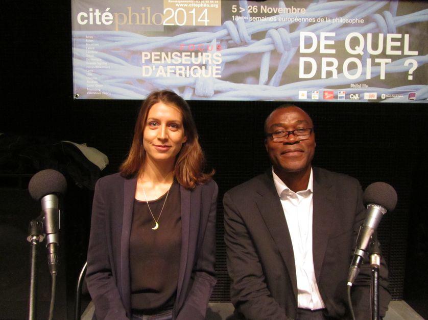 Adèle Van Reeth et Emile Kenmogne